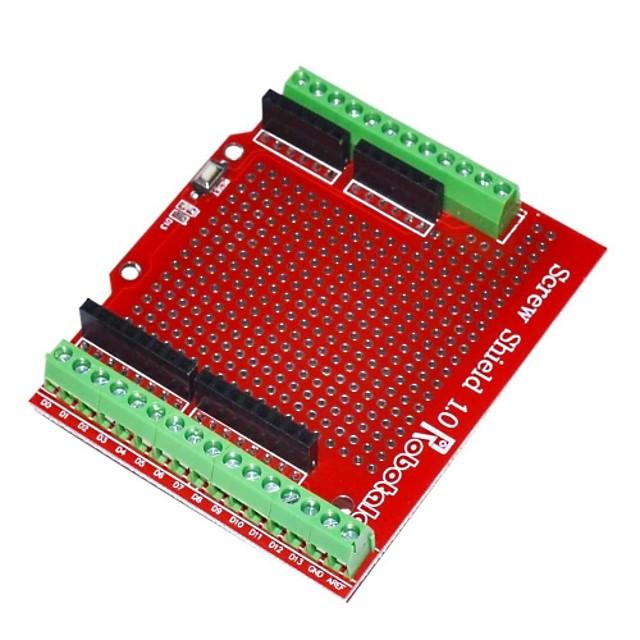 robotale scut șurub proto asamblate pentru Arduino - rosu