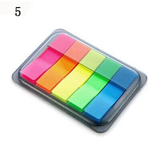 auto-stick constată box coală portabil (culoare aleatorii)