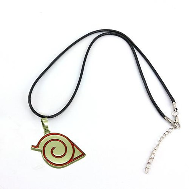 Jewelry Inspired by Naruto Cosplay Anime Cosplay Accessories Necklace Alloy Men's Hot Halloween Costumes