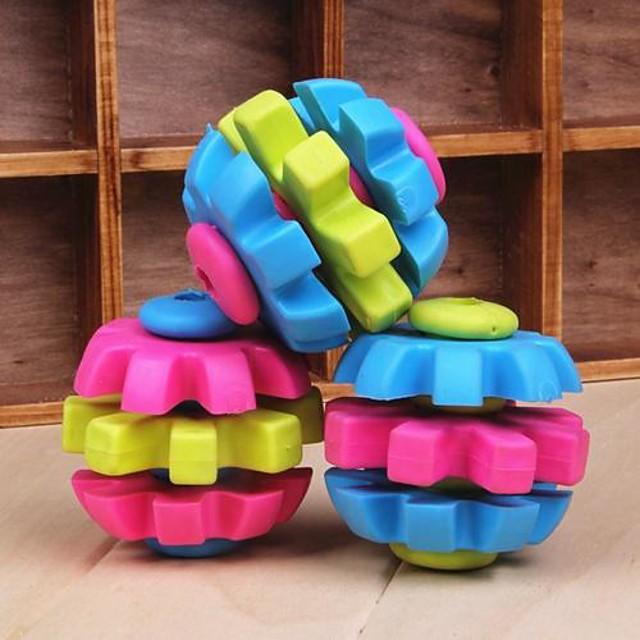 trei culori jucării ros cauciuc pasă în formă de pentru câini de companie (culoare aleatorii)