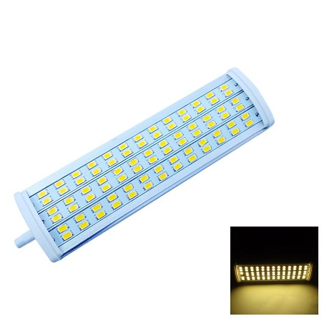 Proiectoare LED 2200 lm R7S Spot Încastrat 78 LED-uri de margele SMD 5630 Decorativ Alb Cald 85-265 V