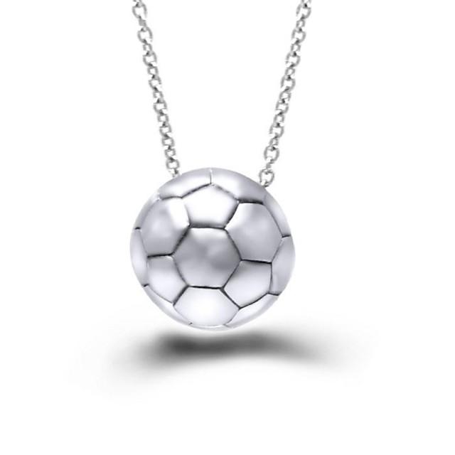 cele mai recente Campionatul Mondial de Fotbal foever fotbal din oțel inoxidabil pandent colier