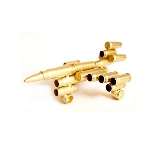 54 Bullet Shell Crafts Metal Model Plane Model