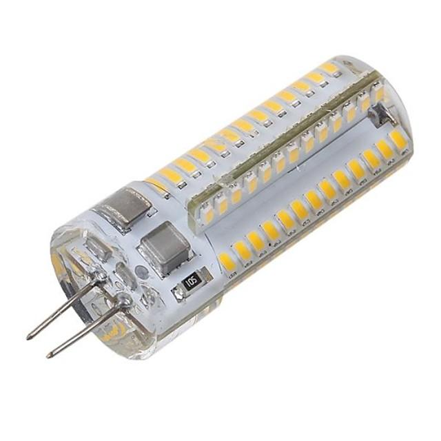 1 buc 5 W Becuri LED Corn 560 lm G4 104 LED-uri de margele SMD 3014 Decorativ Alb Cald Alb Rece 220-240 V / RoHs