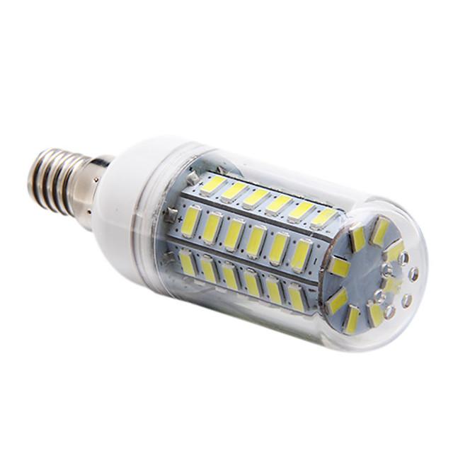 1 buc 5 W 450 lm E14 Becuri LED Corn T 56 LED-uri de margele SMD 5730 Alb Natural 220-240 V
