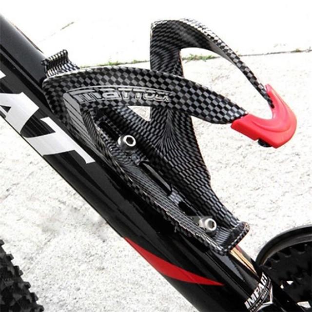 Vélo Porte-bouteille d'eau Fibre de carbone Poids Léger Pour Cyclisme Vélo de Route Vélo tout terrain / VTT Fibre de carbone Plein carbone Noir