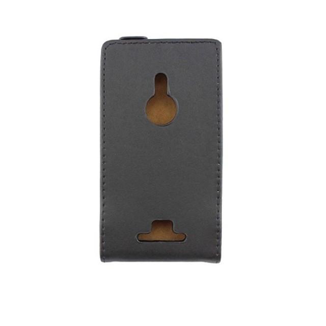 Maska Pentru Nokia Lumia 925 / Nokia Întoarce Carcasă Telefon Mată Greu PU piele