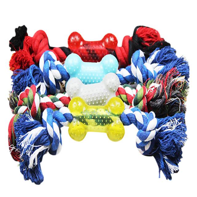 Jucării de Mestecat Jucării Cățel Animale de Companie  Jucarii Funie textil Plastic Cadou