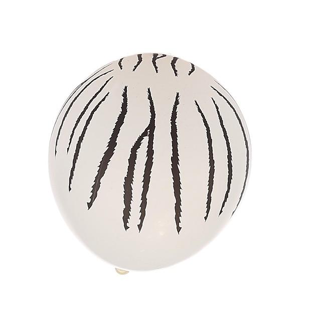 dungă neagră baloane rotunde grosime - set de 24