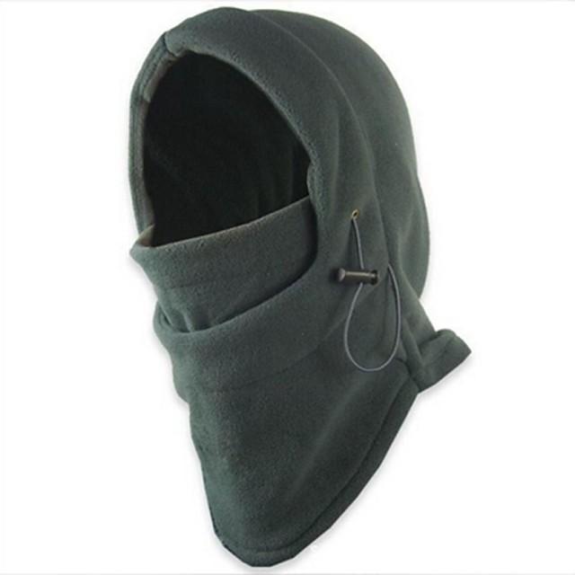 cagule Face Mask Fular Circular cu Glugă Culoare solidă Rezistent la Vânt Rezistent la Praf Bicicletă / Ciclism Gri Rosu Albastru Iarnă pentru Bărbați Pentru femei Adulți Camping & Drumeții Vânătoare
