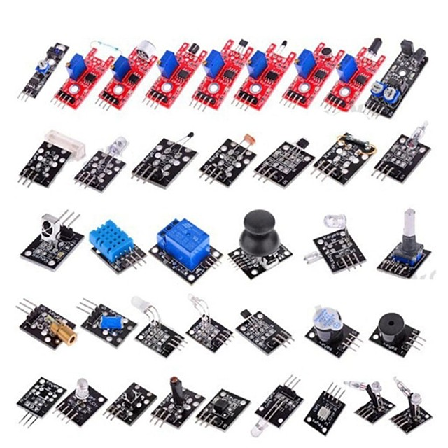 37-în-1 senzor Kit modul pentru Arduino