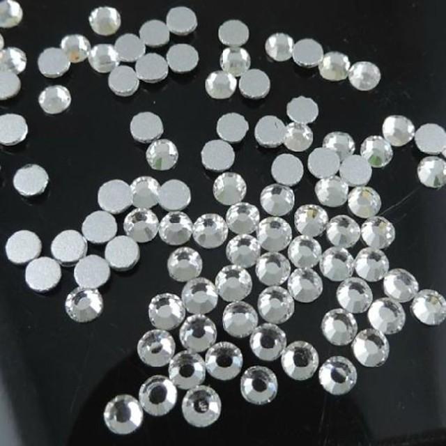 100pcs transparent pietre prețioase rășină 5mm manual artizanale diy material / accesorii de îmbrăcăminte