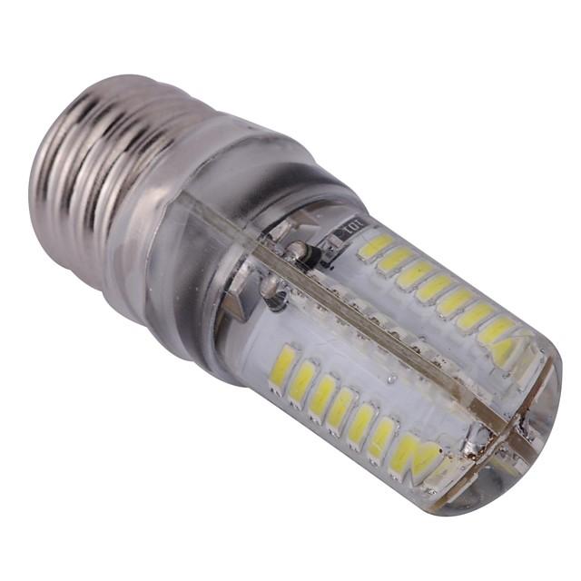 YWXLIGHT® 1 buc 3 W Becuri LED Corn 300 lm E17 T 64 LED-uri de margele SMD 3014 Alb Rece 110-130 V / RoHs