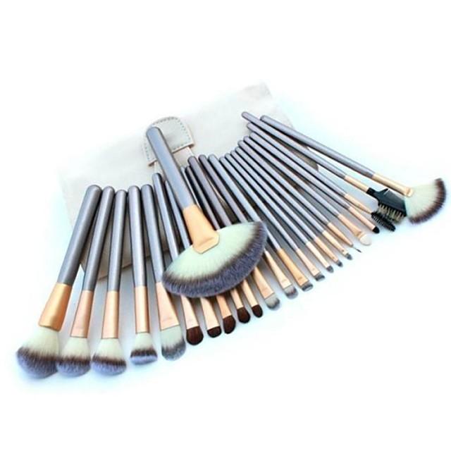 professioneel Make-up kwasten Brush Sets 24pcs Zacht Make-up borstels voor Make-up kwastenset