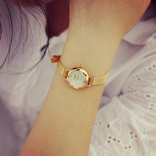 Pentru femei Ceas de Mână Quartz Auriu Ceas Casual Cool Analog femei Charm Modă