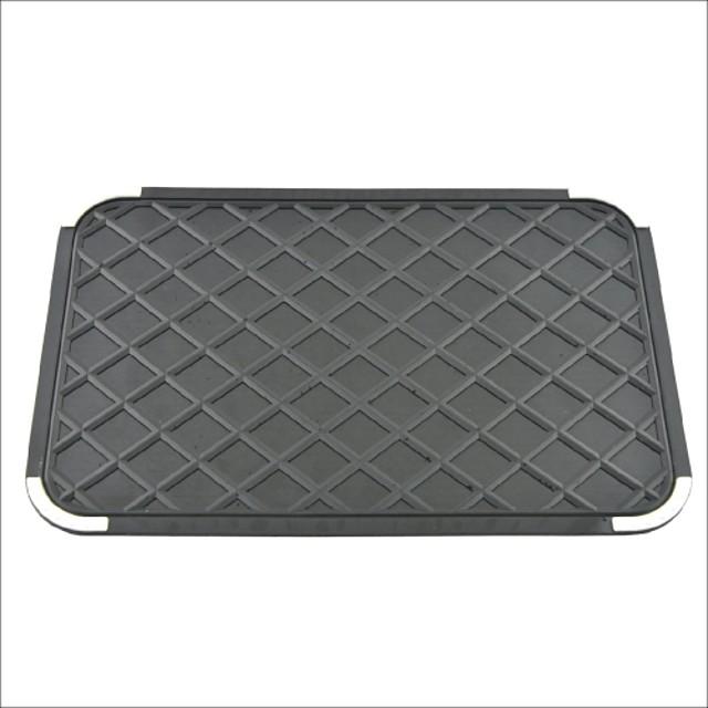 Auto Car bord gel de silicon anti-alunecare mat pad negru