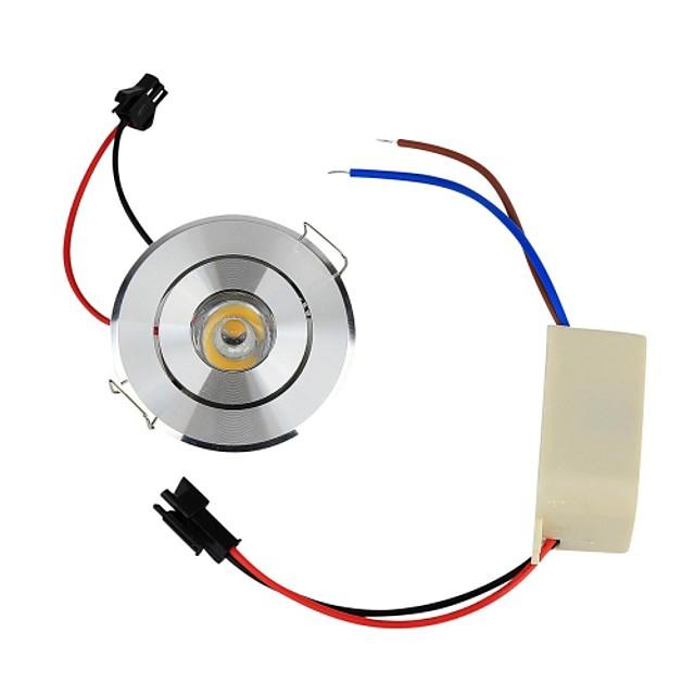 YouOKLight 1 buc 1 W 110 lm 1 LED-uri de margele LED Putere Mare Decorativ Alb Cald 85-265 V / RoHs