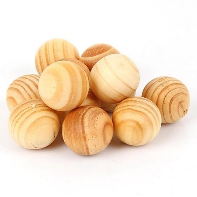 5 buc molie aromoterapie naturale lemn dăunătorilor (culoare aleatorii)