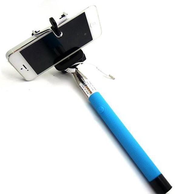 selfie stick bluetooth, uitschuifbare monopod ingebouwde bluetooth remote shutter compatibel met iphone xs / xs max / xr / x / 8 / 8p / 7 / 7p / 6s / 6/5, galaxy s9 / 8/7/6 / note, nubia , huawei en m