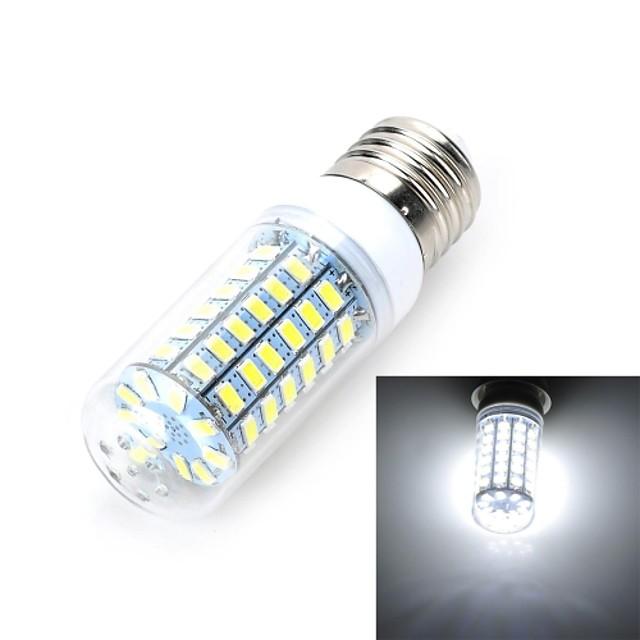 Becuri LED Corn 900-1000 lm E26 / E27 T 69 LED-uri de margele SMD 5730 Alb Rece 220-240 V / RoHs / CE