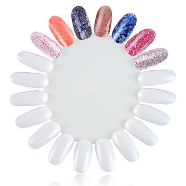 Plastic Unelte pentru unghii Dappen Dishes Pentru Unghie Other Modele multiple nail art pedichiura si manichiura Simplu / Clasic Zilnic