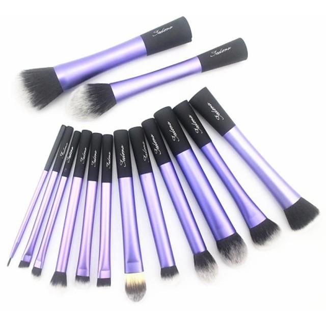 Profesional Machiaj perii Seturi perie 14buc Păr sintetic / Perie Fibre Artificiale Pensule de Machiaj pentru Set Pensule Machiaj