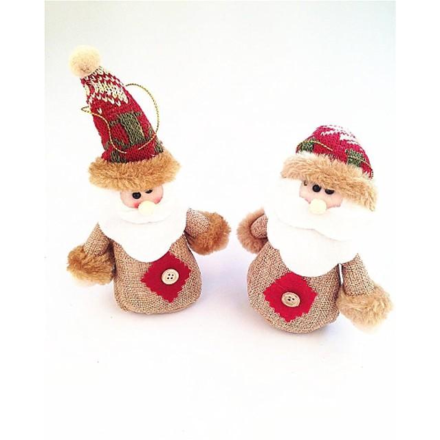 Moș Crăciun în stil mic papusa restabilirea moduri vechi