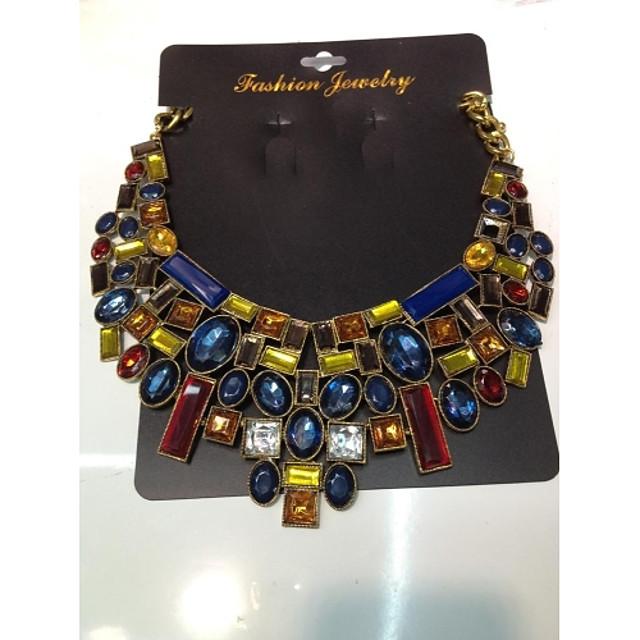 Pentru femei Lănțișor Y Colier Floare femei Reșină Auriu Coliere Bijuterii Pentru Nuntă Petrecere Ocazie specială Aniversare Zi de Naștere Party / Seara