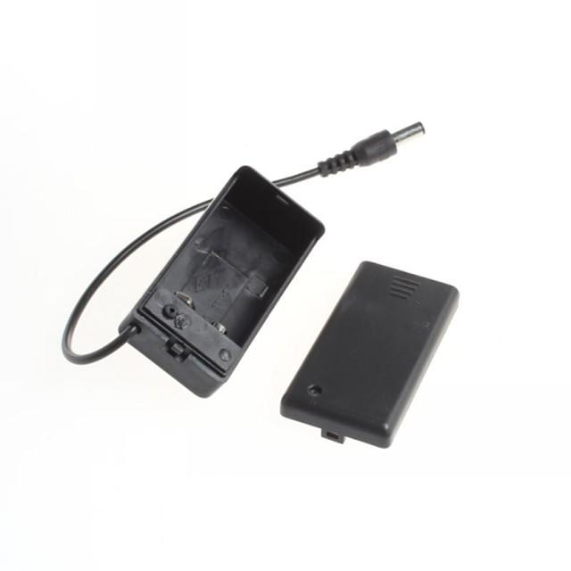 9V PP3 volt caz cutie titularul baterie DC cu sârmă de plumb on / off capac
