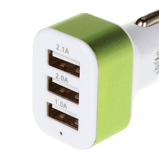 3 USB portova Samo punjač 5 V / 2.1 A