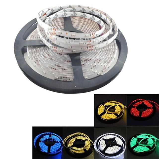5m leduri benzi luminoase tiktok lumini flexibile 300 leduri 2835 smd alb cald alb alb roșu impermeabil 12 v ip65