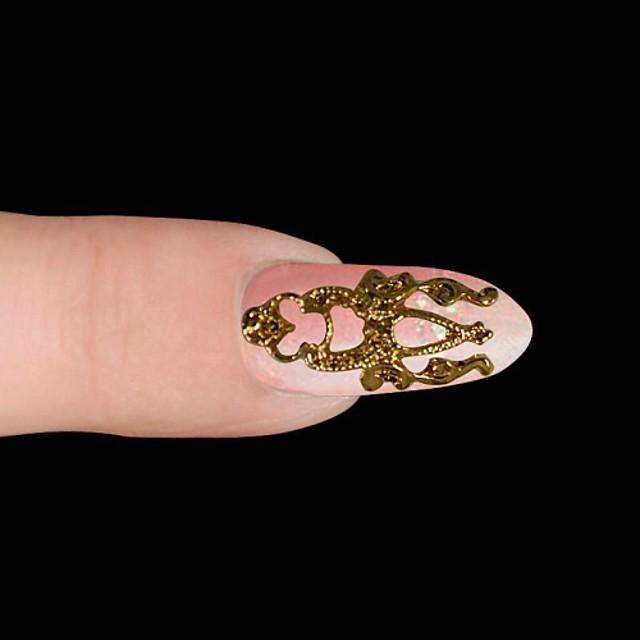 MetalPistol Bijuterie unghii Pentru deget deget de la picior Other Încântător nail art pedichiura si manichiura Fructe / Floare / Abstract Zilnic / Desen animat / Punk
