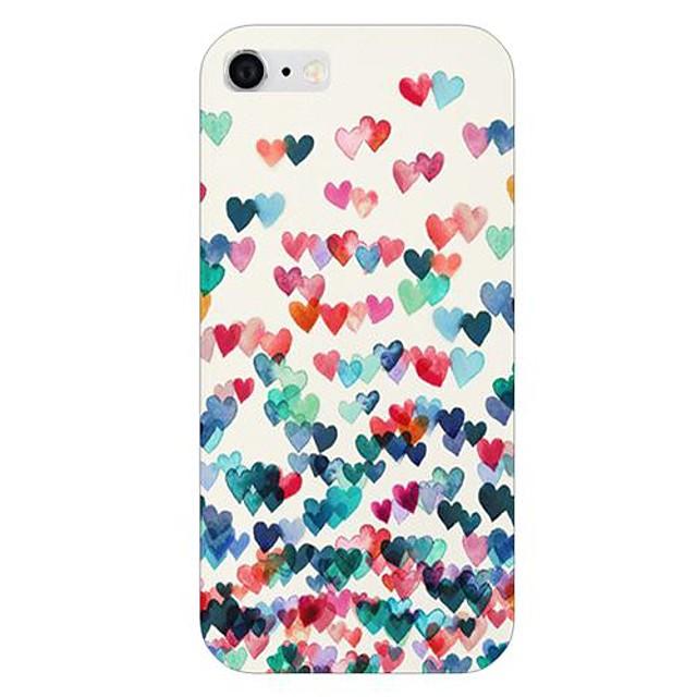 kleurrijke hart patroon achterkant van de behuizing voor de iPhone 6