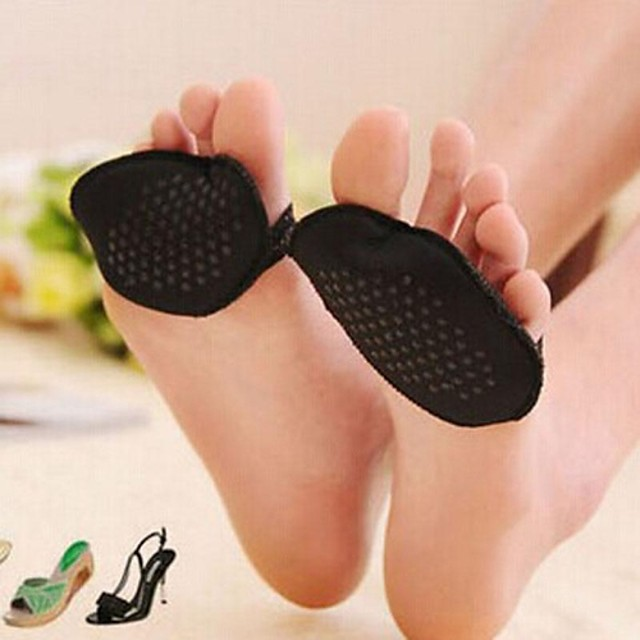 pantofi dantelă cu toc branț de protecție picior din față (culoare aleatorii)