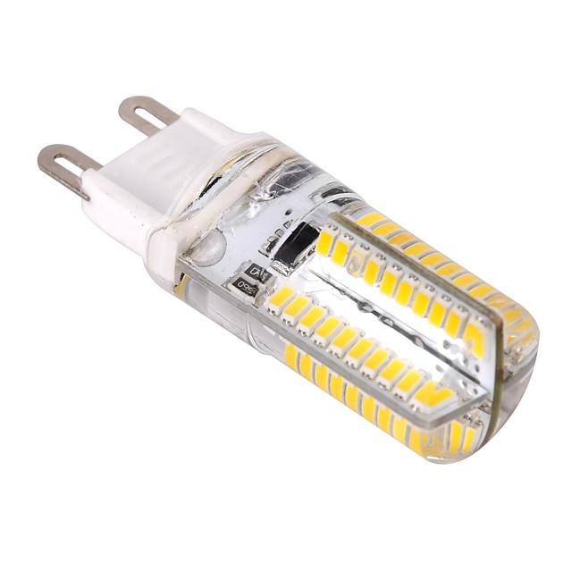 ywxlight® g9 80LED 3014smd led lumina porumb cald alb rece alb dimmable 360 unghi de rază bec lampă led ac 220-240v