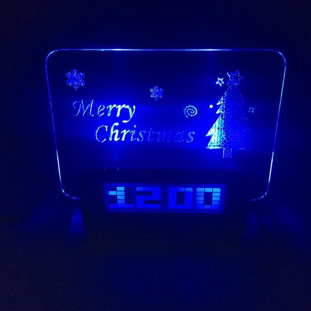 Ceas de creație Crăciun 0.5W 5V 2-a condus g / 1-la-4 hub - alb