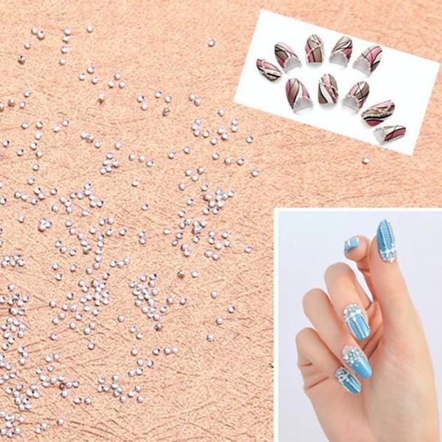 1000 pcs MetalPistol Cosmetics Încântător Fructe Floare Abstract Zilnic Bijuterie unghii pentru deget deget de la picior / Desen animat