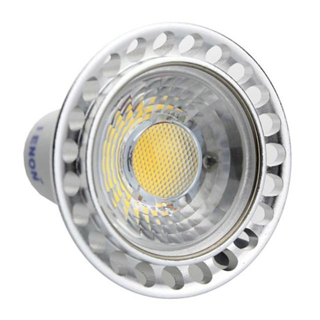 GU10 Spoturi LED MR16 led-uri COB Alb Cald Alb Rece 240-270lm 3000K AC 100-240V