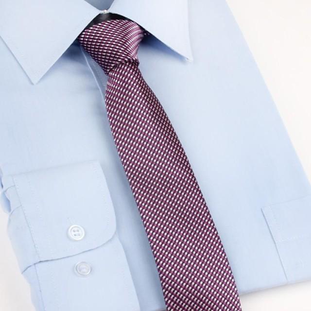 Bărbați Plisat Petrecere / Birou / De Bază Cravată