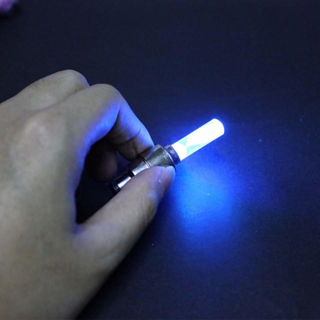 Lumini de Bicicletă / lumini intermitente capac robinet / lumini roți LED Lumini de Bicicletă Ciclism Schimbare - Culoare AG10 Baterie Ciclism / IPX-4