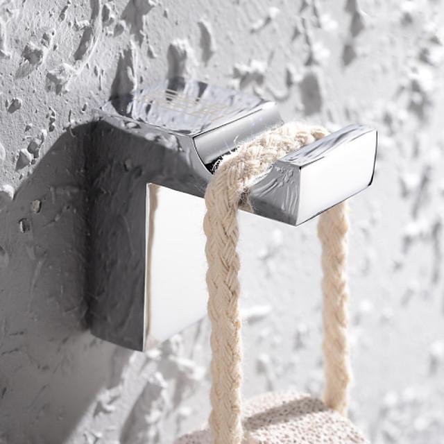 Gancho para Albornoz Moderno Latón 1 pieza - Baño del hotel