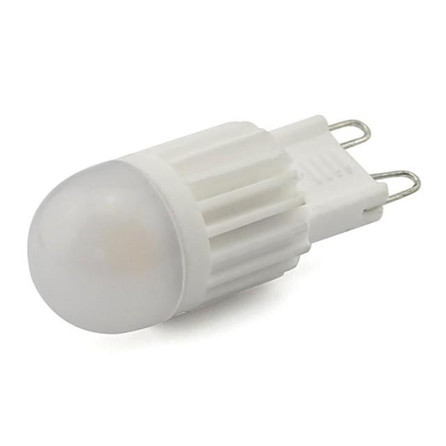 Becuri LED Corn 280LM G9 1 LED-uri de margele COB Decorativ Alb Cald Alb Rece 220-240 V