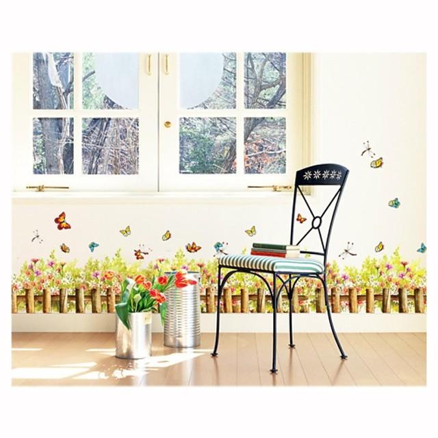 Autocolante de Perete Decorative - Autocolante perete plane Crăciun / Botanic Sufragerie / Dormitor / Baie / Detașabil