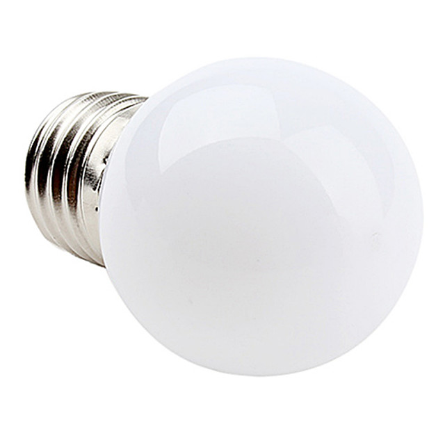 1 buc 1 W Bulb LED Glob 90-120 lm E26 / E27 G45 12 LED-uri de margele SMD 2835 Alb Cald Alb Rece Alb Natural 220-240 V