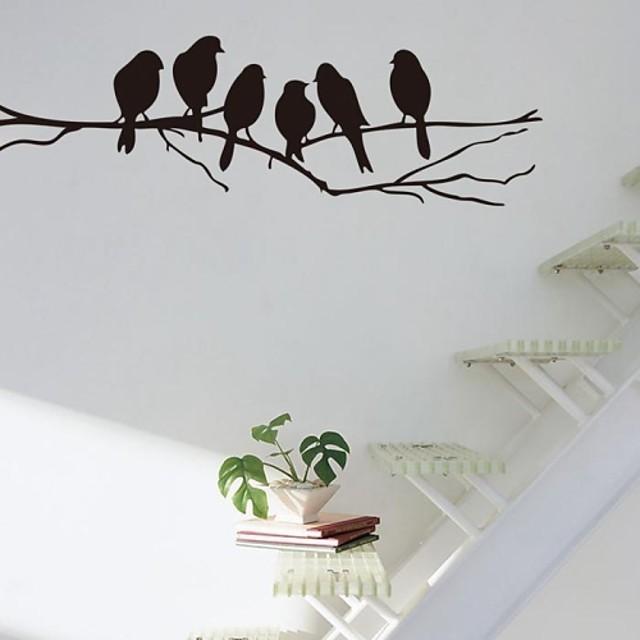 مناظر طبيعية ملصقات الحائط السلم, لصق مسبق فينيل الديكورات المنزلية جدار ملصق مائي