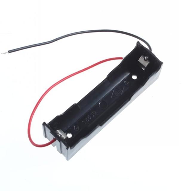 18650 contenitore di batteria 1 / ricarica con la linea