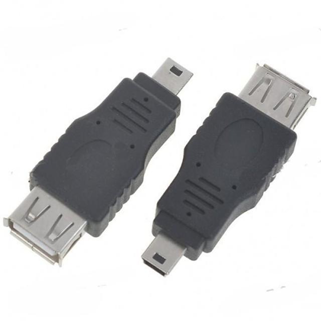 minismile ™ mini USB on-the-du-te găzdui adaptor OTG (2-Pack)