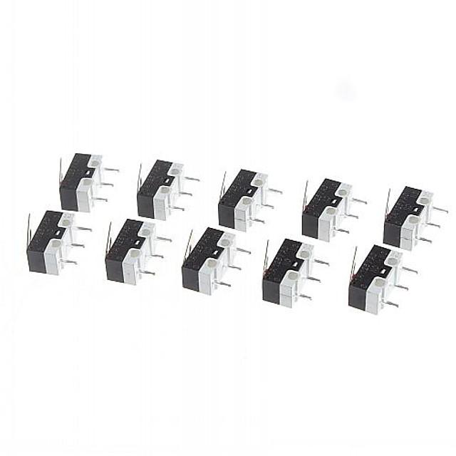 micro-schakelaar voor de elektronica diy 125V / 1a (10 stuks per verpakking)