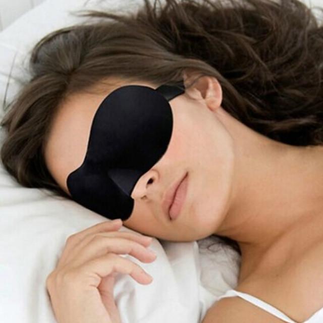 Mască Dormit Călătorie Ajustabile Portabil 3D Respirabilitate Fără cusături 1set Voiaj Burete