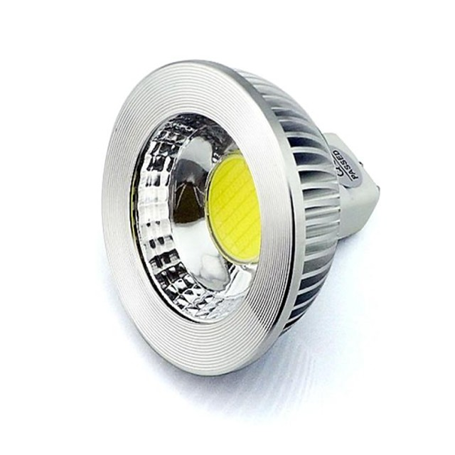 LED-spotlampen 410 lm GU5.3 (MR16) MR16 1 LED-kralen COB Decoratief Warm wit Koel wit 12 V 24 V